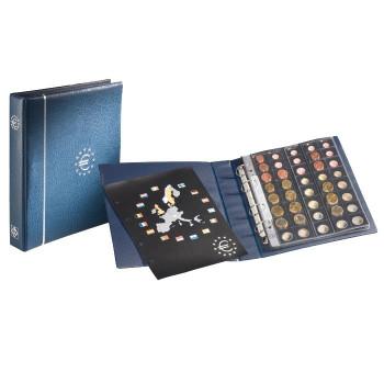 Album Numismatique pour Euros, OPTIMA, bleu