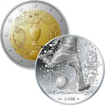 Lot France UEFA 2016 (2€ +...