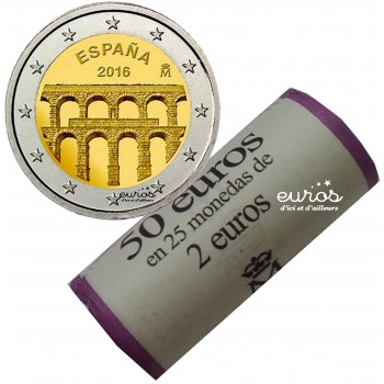 Rouleau 2 euros Espagne...