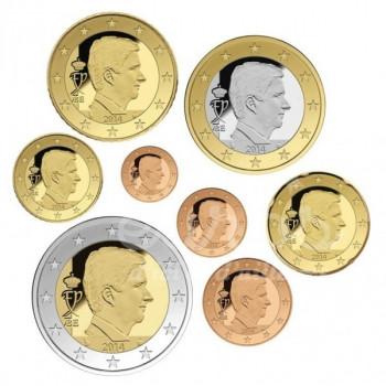 Série 1 cent à 2 euros Belgique 2016