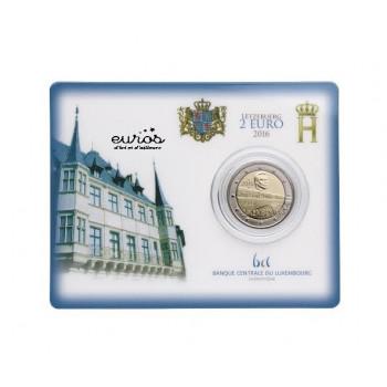 Coincard 2 euros Luxembourg 2016 - 50 ans du Pont Grande Duchesse Charlotte