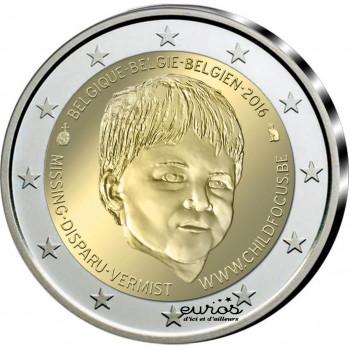 2 euros Belgique 2016 - Child Focus - UNC