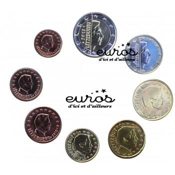 Série 1 cent à 2 euros Luxembourg 2016 - UNC