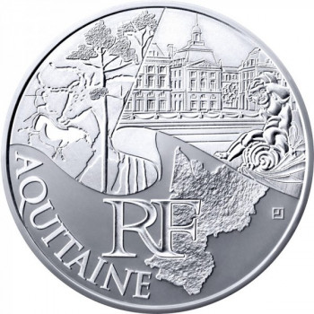 10 euros des régions 2011 - Monument - Aquitaine