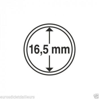 Capsules rondes x 10 - Diamètre 16,5mm - LEUCHTTURM