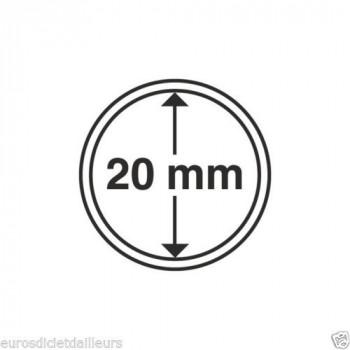 Capsules rondes x 10 - Diamètre 20mm - LEUCHTTURM
