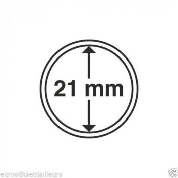 Capsules rondes x 10 - Diamètre 21.5mm - LEUCHTTURM