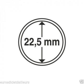 Capsules rondes x 10 - Diamètre 22.5mm - LEUCHTTURM