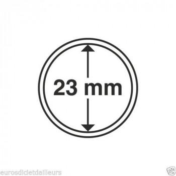Capsules rondes x 10 - Diamètre 23mm - LEUCHTTURM