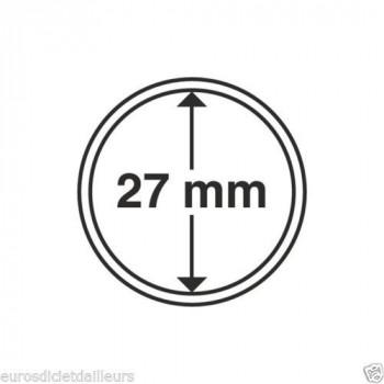 Capsules rondes x 10 - Diamètre 27mm - LEUCHTTURM