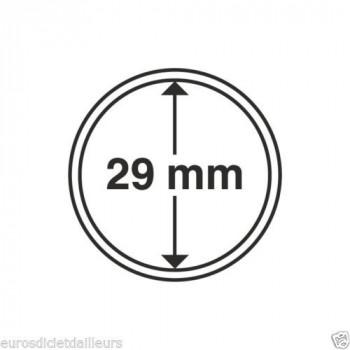 Capsules rondes x 10 - Diamètre 29mm - LEUCHTTURM