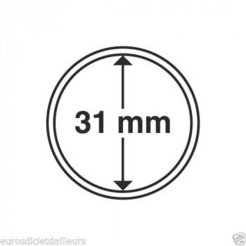 Capsules rondes x 10 - Diamètre 31mm - LEUCHTTURM