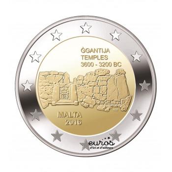 2 euros commémorative Malte 2016 - Ggantija - UNC