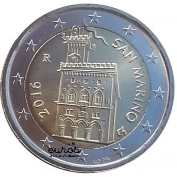 2 euros Saint Marin...