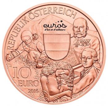 10 euros Autriche 2016 - Autriche
