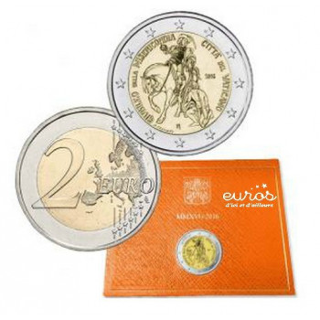 2 euros Vatican 2016 -...