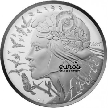 20 euros FRANCE 2017 - Marianne - Argent 900‰