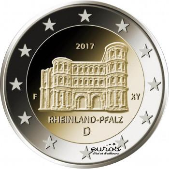 2 euros Allemagne 2017 - Rhénanie-Palatinat