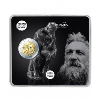 2 euros BU France 2017 - Auguste Rodin - Monnaie de Paris