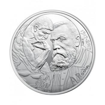 100 euros argent France 2017 - Auguste Rodin