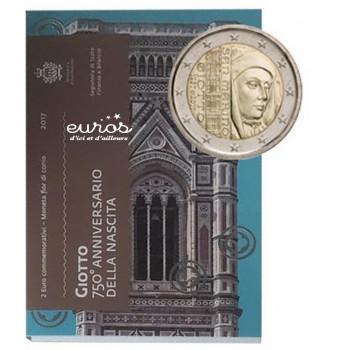 2 euros Saint Marin 2017 - 750ème anniversaire de la Naissance Giotto