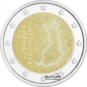 2 euros commémorative FINLANDE 2017 - 100ème anniversaire de l'Indépendance de la Finlande