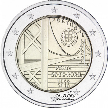 2 euros Portugal 2016 -...