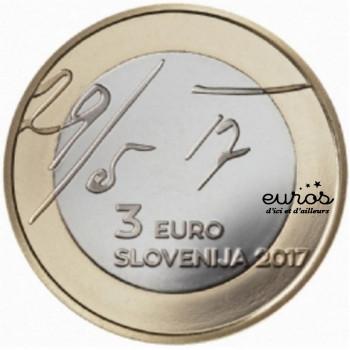 3 euros SLOVENIE 2017 -...