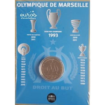 1,5 euros France 2011 Olympique de Marseille - Monnaie de Paris
