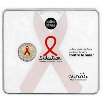 2 euros BU FRANCE 2014 - Journée Mondiale de la Lutte Contre le Sida