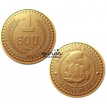 Mini-médaille 1 sou -...