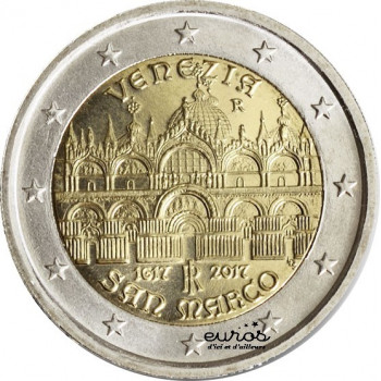 2 euros commémorative ITALIE 2017 - Venise