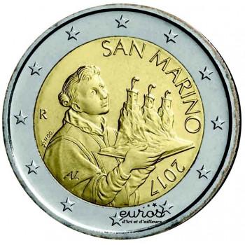 2 euros SAINT MARIN 2017 -...