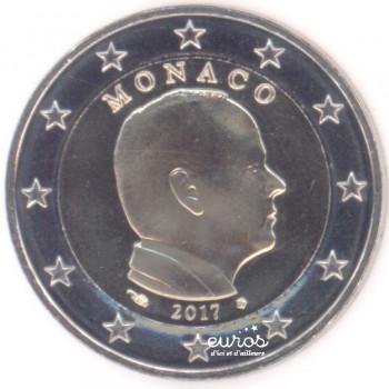 2 euros annuelle MONACO 2017 - Prince Albert - UNC