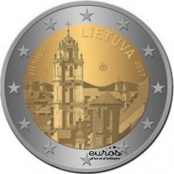 2 euros commémorative LITUANIE 2017 - Vilnius, Capitale de la Culture