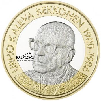 5 euros commémorative FINLANDE 2017 - Urho Kaleva Kekkonen 1900 - 1986  8/8