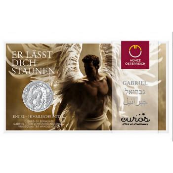 10 euros commémorative AUTRICHE 2017 - Gabriel, L'Ange Révélateur - Argent BU 925/1000