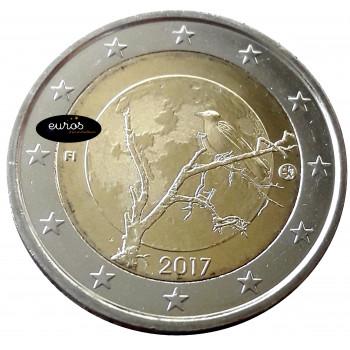 2 euros commémorative FINLANDE 2017 - La Nature Finlandaise - UNC