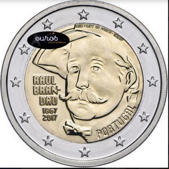 2 euros commémorative PORTUGAL 2017 - Raùl Brandão