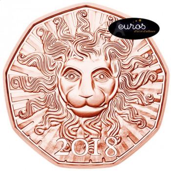 5 euros commémorative AUTRICHE 2018 en cuivre - Nouvelle Année