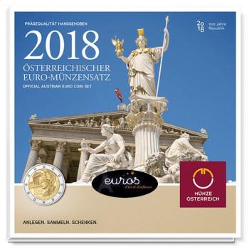 Set BU AUTRICHE 2018 - 100ème anniversaire de la République d'Autriche