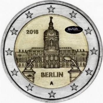 2 euros ALLEMAGNE 2018 - Berlin, Château de Charlottenburg - UNC