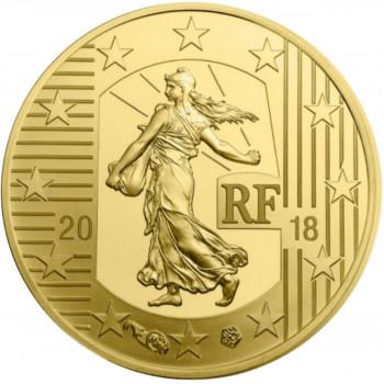 50 euros 1⁄4 oz Or BE...