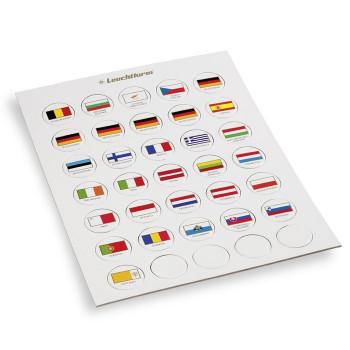 Chips drapeaux EURO
