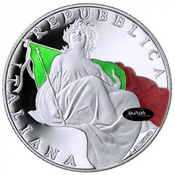 5 euros ITALIE 2018 - 70 ans de la Constitution - Belle Epreuve