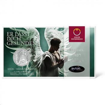 10 euros commémorative AUTRICHE 2018 - Raphael, The Healing Angel - L'Ange Guérisseur - Argent BU 925/1000