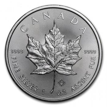 CANADA - Maple Leaf 2018 - 5$ CAD - 1 Oz - Argent 99,99‰ - Bullion Coin