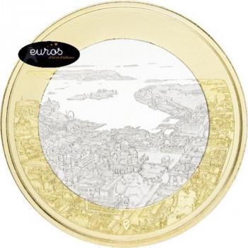 5 euros commémorative FINLANDE 2018 - Helsinki - Paysages Maritimes Finlandais - 2/9