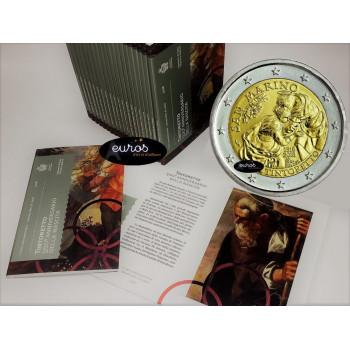 2 euros commémorative SAINT MARIN 2018 - 500° anniversaire de la naissance de Tintoretto - BU