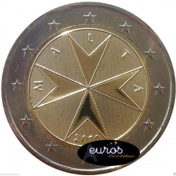 2 euros annuelle Malte 2016 - Croix Maltaise
